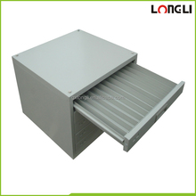 Hot sale Asian commercial metal paraffin storage cassette in grey electrostatic powder coating