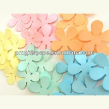 Hot new bestselling product wholesale alibaba vivid color Rainbow Flowers Scrapbook Cardmaking decor made in China