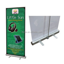 outdoor cheap economic single side 85*200cm aluminum roll up banner stand