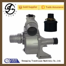 Water pump with pulley for single phase water pump motor