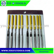 UF-4310 10 Pcs High Quality Diamond Hand Tools Files set ,Hand Needle Files Set for carpenter