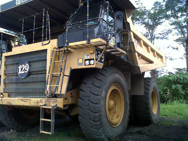 Used Caterpillar 777D Dump Trucks
