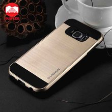 Shock-Proof Heavy-Duty Armor PC+TPU Brushed Verus Case for Samsung Galaxy S7 Edge Plus S6 J7