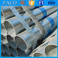 steel structure building materials ! galvanized carbon steel tubes threaded galvanized pipe 1 1/4 inch