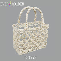 Mini Lace Baskets For Weding Gift