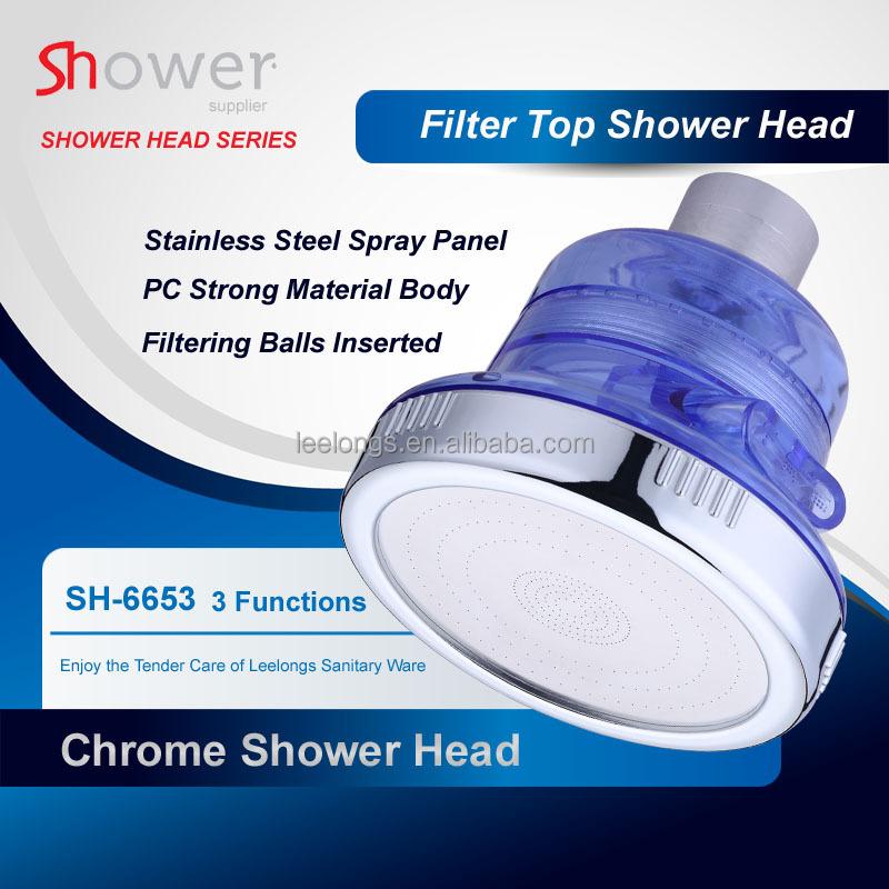 health care spa negative ion filter chlorine high pressure top shower head buy filter chlorine. Black Bedroom Furniture Sets. Home Design Ideas