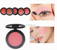 Professional Single Blusher Private Label Makeup 6 Color In Stock No Logo Cosmetics