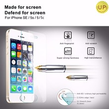 360 Degree 4 Way 2.5D Anti-Broken Anti-Fingerprint 9H Premium tempered glass privacy screen protector for iPhone 6