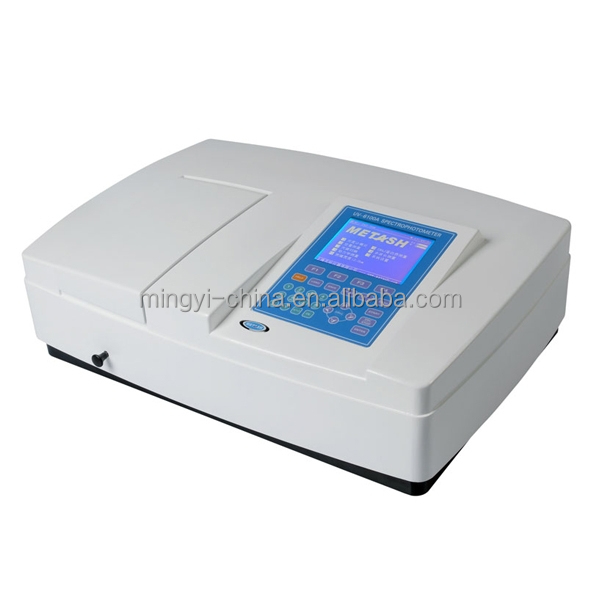 Factory supply ultraviolet visible spectrophotometer with CE certificate