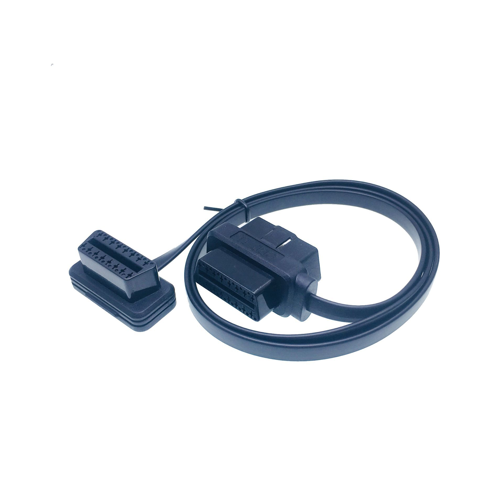 Factory 12V 16PIN J1962 Male to Female Extension OBDII Pass Through Cable