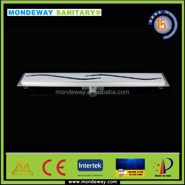 MONDEWAY DRAIN HOT SALES 900*70*70 FOR concrete drainage ditch/toilet bath accessories /hotel shower bathroom WITH GOOD PRICES