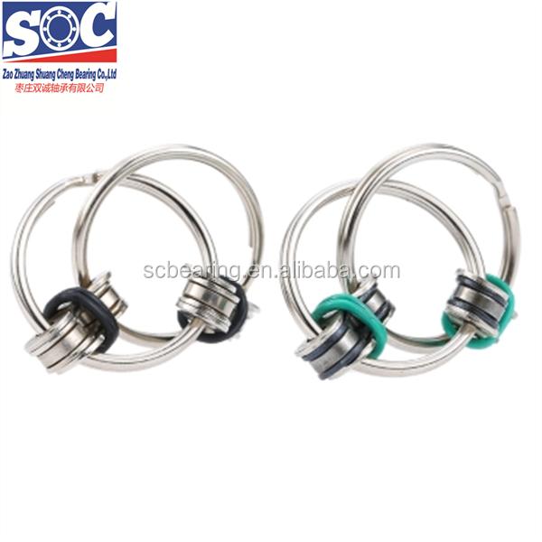 Diy Bike Chain Fidget Toy Stress Reducer Mini Edc Key Ring ...