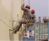 cementitious capillary crystalline waterproofing (CCCW) material usede building exterior wall