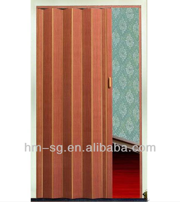 new design pvc folding door indoor