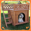 Solid wood new design hot sale dog kennel
