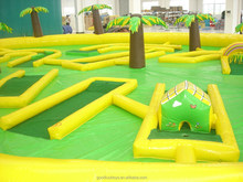 commercial inflatable table football field sport games /inflatable golf field