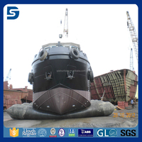 tug and barge inflatable rubber land airbag