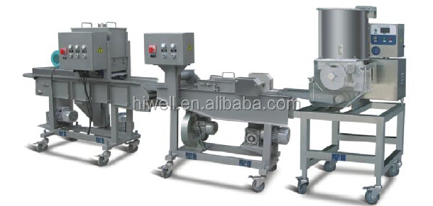 MINI Automatic Meat Pie and Nuggets Pie Machine Production line