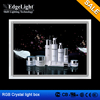 Edgelight RGB led crystal light box beautiful photo frames