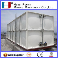 Bolted assembled low price FRP/SMC water tank