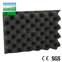 High Density Custom Shape and Size Acoustic Foam Panel /Egg Shape Foam/ Eggc Crate Foam Sheets