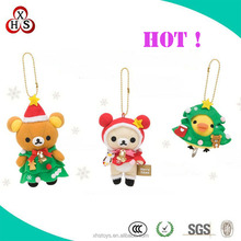 2014 Best Selling Customized Plush Christmas Decorations, christmas tree ornament