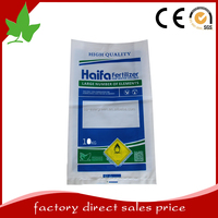 Thick UV resistant plastic bags for fertilizer packaging