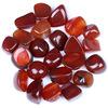 Colorful Handmade Crafts & Gifts / Carnelian Crystal Tumbled Gemstones Being Gifts