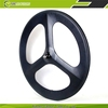 Best value carbon 3 spoke wheel for bicycle 700c wheelset
