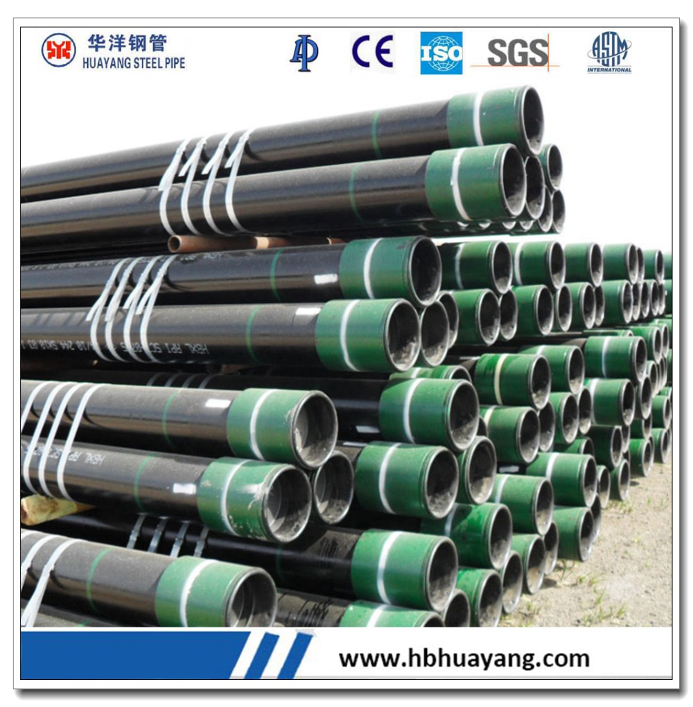 "Seamless casing tube J55 K55 13 "" 3 / 8 inch exported to Algeria"