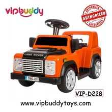 Fashion Licensed LAND ROVER Toy Pedal Car/Sliding Baby Carriage Toy Kids Ride On Car