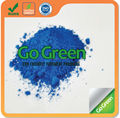 Blue dye powder pigments for color asphalt