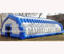pneumatic frame airtight tent Inflatable building,blow up tent
