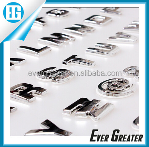 Custom LOVE Metal Letters ,Metal Logo For Car,Custom Metal Car Logo Badge Emblems