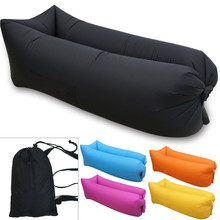 Cheap portable sleeping sofa bed/sofa air bag/inflatable air sofa bed with high quality for out door camping use