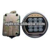 digital safe locksteel and beaitiful combined key lock and mechanical gun safe box