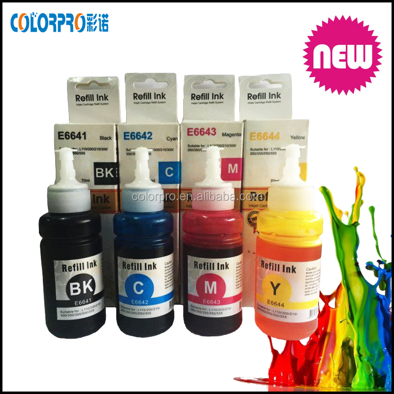 Special Dye Ink For Epson Ciss For Epson L355 L100 L200 L358 L1300 ...