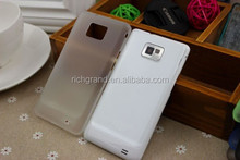 0.3mm ultra thin back cover TPU shell case for Samsung galaxy s2 i9100