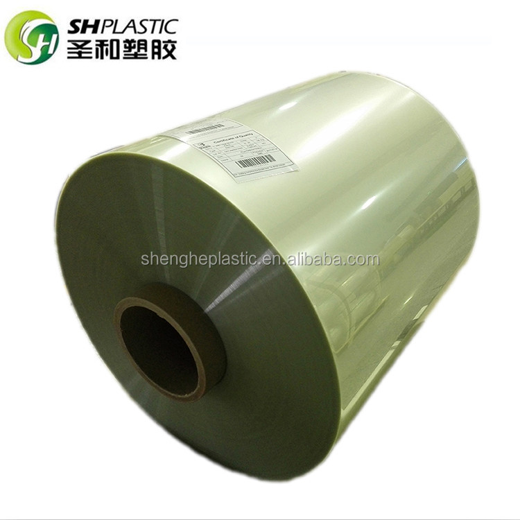 Hot Selling Transparent Plastic Packing PET Heat Shrink Polyester Film