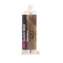 3M DP460 silver epoxy glue for stainless steel