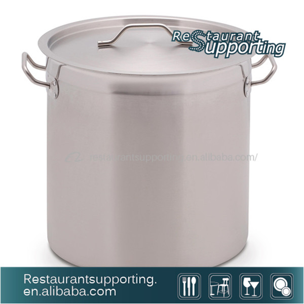 200L Stainless Steel Pot Industrial Cooking Pot