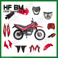 GYA Motorcycle Dirt Bike Body Parts Supply, Brazil Market Motorcycle Parts,Plastic Body Parts