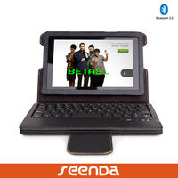 wireless detachable keyboard with pu leather case for Kindle Fire HD 2nd 7