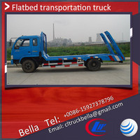 DONGFENG light weight flatbed truck , 3-6T small flatbed truck