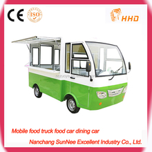 Customized Mobile Electric Breakfast Food Cart For Sale philippines