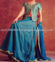 Designer Embroidered Bridal Lehenga/Lengha ~ Wedding Lehengas Choli ~ Bollywood Ghagra
