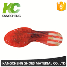 Good Elasticity Customized Size TPU Football Sole Fashion TPU Sole Soccer Shoe For Sport