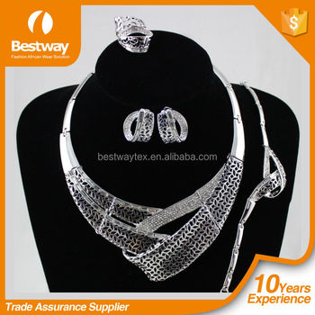 Dubai fashion jewelry set 2015 african gold jewelry sets high quanlity african jewelry set for party