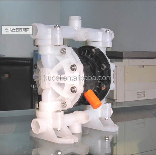 "1/2"" plastic transfer acid sewage pneumatic diaphragm pump"