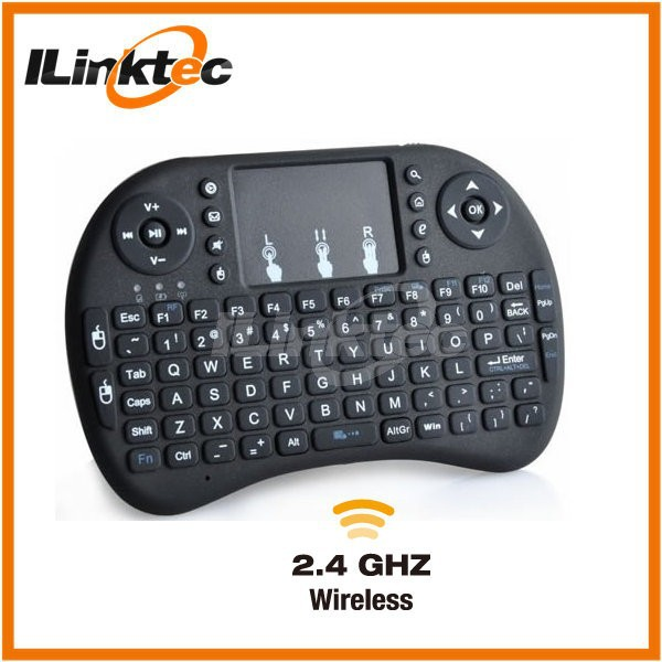 Free shipment i8 mini wireless keyboard with touchpad up to 15 meters